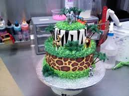 jungle baby shower cakes theme baby shower cake