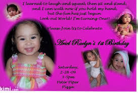 year birthday invitation for girls