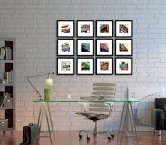 furniture print wall art home decor for room decorations 3 panel