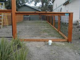 Gate For Backyard Fence Best 25 Chicken Wire Fence Ideas On Pinterest Garden Wire