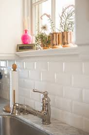 white subway tile kitchen backsplash 25 white subway tile backsplash ideas on subway
