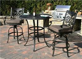 Pub Height Patio Table Best Bar Height Patio Furniture Sets