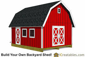 How To Build A Small Outdoor Shed by 16x20 Shed Plans Build A Large Storage Shed Diy Shed Designs