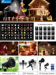 This Is Halloween Christmas Lights by Amazon Com Vansky Halloween Led Projector Light With 15