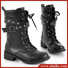 lace up moto boots free shipping wholesale womens martin motorcycle boots belt buckle