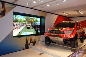 toyota financial desktop datapath fx4 controllers specified at toyota u0027s flagship champs