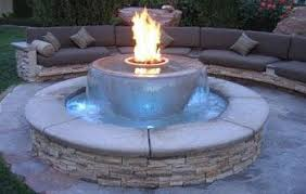 Firepits Gas And Water Conversation Area How Cool Is This Landscaping