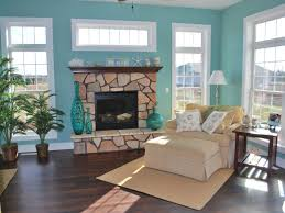 Light Blue Living Room by Living Room Fascinating Sunrooms With Fireplace Decoration Using