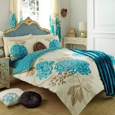 wholesale bulk kew cream teal floral duvet cover wholesale
