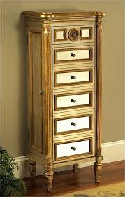 savoy tall jewelry armoire express air modern home design