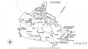 Manitoba Canada Map by Map Of Canada Territories And Provinces With Capitals Regarding