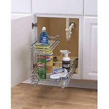 Kitchen Cabinet Storage Baskets Best 25 Under Sink Storage Ideas On Pinterest Diy Storage Under
