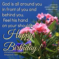 nice christian quotes birthday god protect