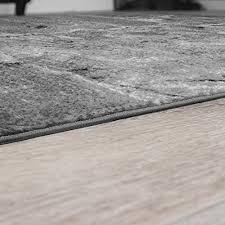 tappeto design moderno tappeto con effetto pavimento in pietra effetto marmo design