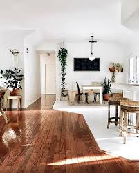 idee sol cuisine séparer des espaces seulement de part la composition du sol une