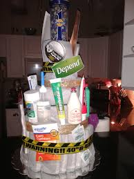 depends cake gift 40th birthday but will also work for