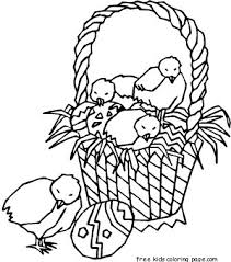 easter basket with eggs coloring page coloring sheet easter basket 115 best easter coloring pages
