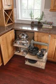 kitchen cabinet space corner storage how to use that wasted space in the corner the counter