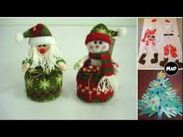 Garden Crafts To Make - xmas craft ideas easy christmas crafts to make youtube