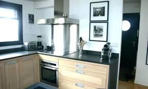cuisine ardoise et bois deco cuisine bois clair amazing ud cuisine bois et blanc with