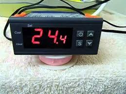 digital temperature controller thermostat for incubator or