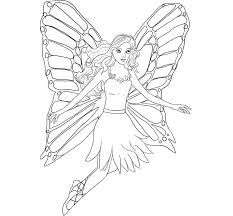 free printable barbie fairy coloring pages redcabworcester