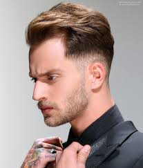 short hair undercut for men fashionable men u0027s hairstyle with a small quiff and an undercut