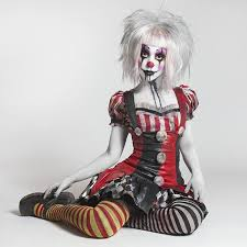 Scary Girls Halloween Costume 25 Scary Clown Costume Ideas Clown Halloween