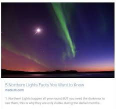 why northern lights happen https medium com specialtours getting ready for a northern lights