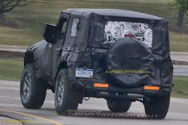 blue jeep 2 door 2018 jeep wrangler jl 2 door spied zf 8 speed auto and other