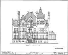 Gilded Age Mansions Floor Plans Eaton Hall Ground Floor The Non Extant Country House Of