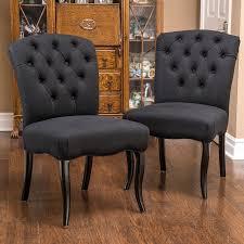 shop best selling home decor set of 2 hallie black scroll side
