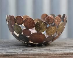 custom made coin bowl metal sculpture metal bowl ornament