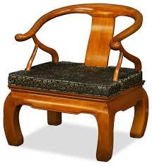Legs For Armchairs Rosewood Chow Leg Monk Chair Asian Armchairs And Accent Chairs