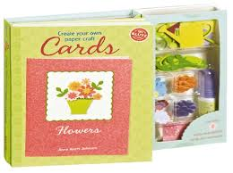 the store create your own paper craft cards flowers book