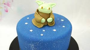 quick u0026 easy star wars yoda cake topper youtube