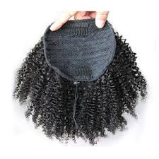 how to tight american hair kinky curly afro puff ponytail bqute luxe hair lash boutique