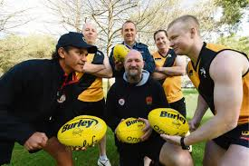 bentley college football football wa police and clontarf aboriginal college to play