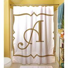 cheap monogram shower curtain find monogram shower curtain deals