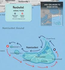 Nantucket Map Nantucket Cape Cod Life