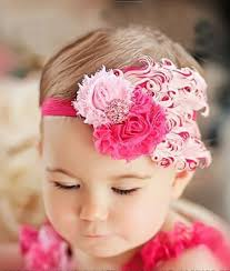 baby hair band fancy feathered headbands bambino headbands