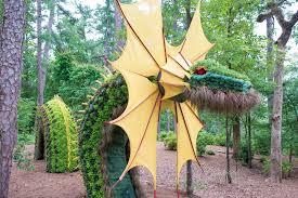 Garvan Gardens Christmas Lights Exhibit Tour Mystic Creatures At Garvan Woodland Gardens Little