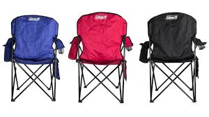Coleman Reclining Camp Chair Oversized Quad Chair Coleman 2000002186 Youtube