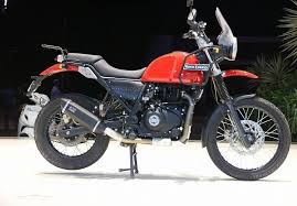 royal enfield himalayan candy colours red rear side right indian