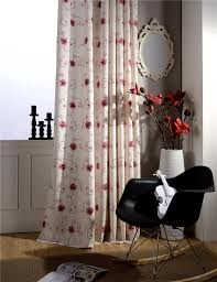 popular elegant living room curtains buy cheap elegant living room red embroidered drapes polyester cotton fabrics floral curtains decoration home pastoral elegant living room curtains b16199