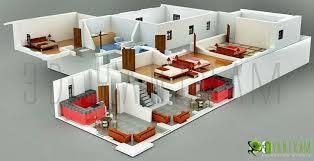 3d home floor plan design beautiful home design 3d view contemporary interior design ideas
