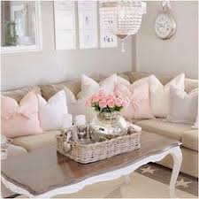shabby chic livingrooms low hung chandelier in place of sconces 37 enchanted shabby chic