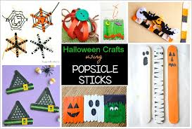 Crafts For Kids For Halloween - 12 halloween crafts for kids using popsicle sticks buggy and buddy