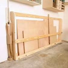 garage storage projects plywood rack garage storage wood