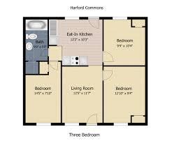 3 Bedroom Apartments In Md 750 Square Feet Floor Plan 3 Bedroom Homes Zone